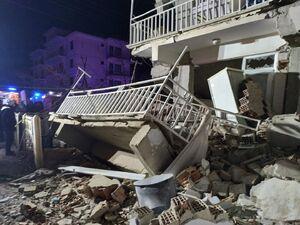 فیلم/ آخرین اخبار از زلزله شدید ترکیه