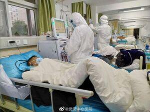 فیلمی از  یک بیمار مبتلا به کرونا در ووهان چین