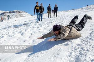 عکس/ تفریحات زمستانی در شهرهای کشور