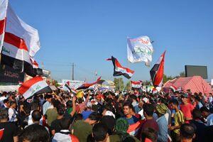 اتمام حجت مردم عراق با آمریکا