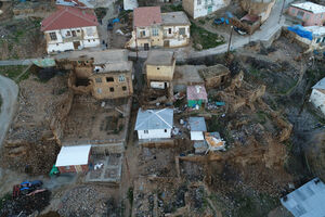 تصاویر هوایی از شهر زلزله زده الازیغ ترکیه