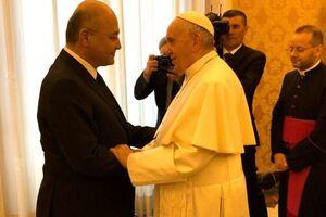 پاپ فرانسیس بر لزوم احترام به حق حاکمیت ملی عراق تأکید کرد