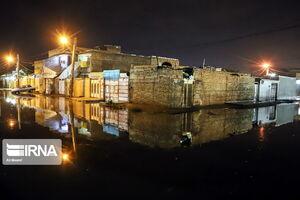 عکس/ سرریز فاضلاب در خوزستان