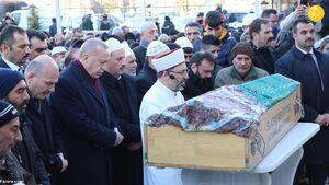 عکس/ حضور اردوغان در مناطق زلزلهزده