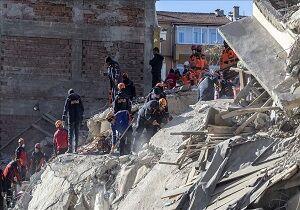 افزایش جانباختگان زلزله ترکیه به ۳۱ نفر