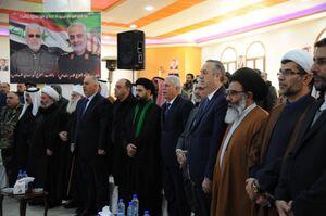 بزرگداشت شهید سلیمانی در سوریه برگزار شد +عکس
