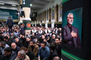 رهبر انقلاب در عزاداری حضرت زهرا