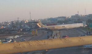 عکس/ خروج هواپیمای کاسپین از باند فرودگاه
