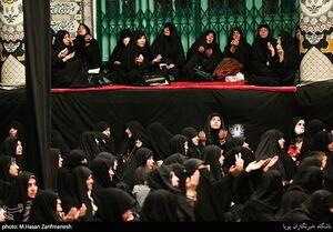 عکس/ عزاداری ایام فاطمیه در حسینیه سادات اخوی