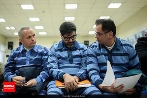عکس/ جلسه اول دادگاه متهمان ارزی