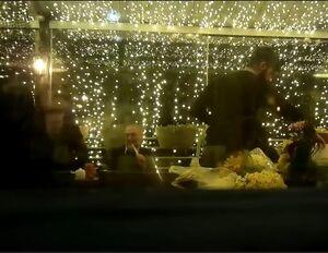حضور تاجزاده و همسرش در جشن تولد ابطحی +فیلم