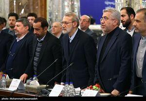 عکس/ دیدار رئیس مجلس دومای روسیه با علی لاریجانی