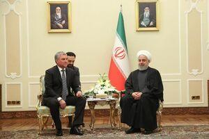 روحانی: روابط ایران و روسیه بر خلاف خواست آمریکا رو به پیشرفت است