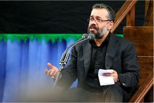 فیلم/ بخشی از مداحی محمود کریمی در محضر رهبرانقلاب