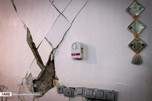 زلزله در « خانه زنیان شیراز»