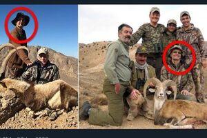 شکارچیان خارجی برای زدن قوچ اوریال به ایران آمدند!