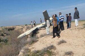 فیلم/ فرود یک پهپاد در ملاثانی خوزستان