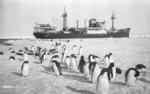 عکس/ قطب جنوب در ۲۰۰ سال گذشته
