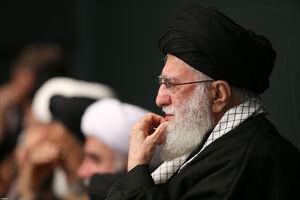 عکس/ عزاداری شب شهادت حضرت زهرا با حضور رهبرانقلاب