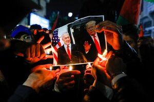 عکس/ واکنش مردم فلسطین به «معامله قرن»