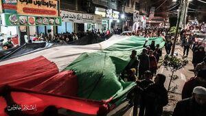 واکنش مردم فلسطین به معاملع قرن