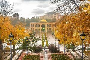 تصویر زیبا از اِئل گلی تبریز