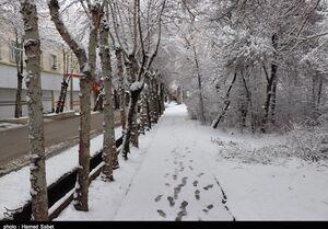 پیش بینی برف و باران ۳ روزه در برخی استانها +جدول