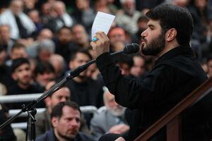 مداحی میثم مطیعی در محضر رهبر انقلاب
