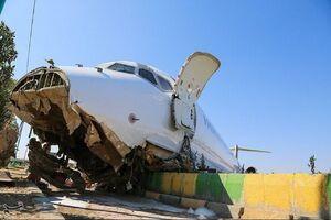 تصویری واضح از میزان خسارت به هواپیمای کاسپین