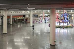 عکس/ وضعیت متروی پکن در این روزها
