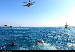 مانور امداد و نجات دریایی جزیره خارک