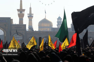 اجتماع و راهپیمایی عظیم فاطمیون ـ مشهد مقدس
