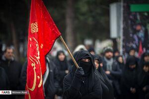 تجمع فاطمیون(س) در میدان«شهید طهرانی مقدم»