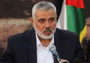 هنیه: هرگونه معاملهای که ناقض حقوق ثابت ملت فلسطین باشد را نمیپذیریم