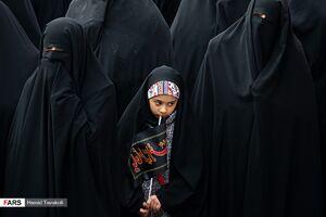 عکس/ اجتماع فاطمیون در میدان امام حسین (ع)