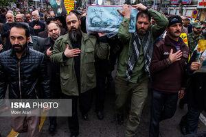 عکس/ تشییع و خاک سپاری شهید گمنام در رشت