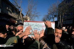 مراسم تشییع شهید گمنام در گرگان