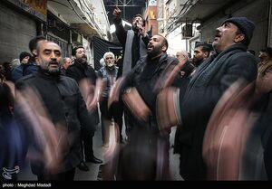عکس/ عزاداری شهادت حضرت زهرا(س) در بازار تهران