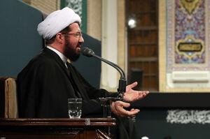 صوت/ سخنرانی حجتالاسلام عالی در بیت رهبری