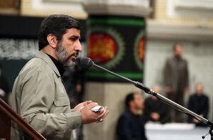 فیلم/ مداحی مهدی سلحشور در محضر رهبر انقلاب