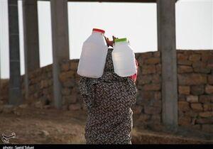 حکایت مردمان دبه به دست برای تهیه آب آشامیدنی