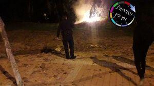 اصابت راکت به شهرکهای صهیونیستنشین +فیلم