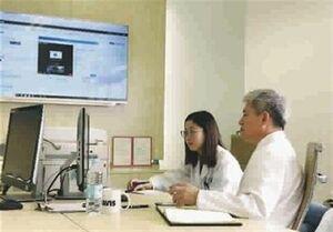 خدمات معالجه آنلاین ویروس کرونا توسط بیمارستانهای شانگهای