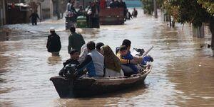 فیلم/ کمک کودکان فقیر لبنانی در زمان سیل ایران