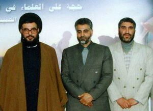 عکس/  شهید کاظمی و شهید سلیمانی در کنار سیدحسن نصرالله