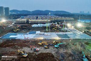 روند ساخت بیمارستان ۱۰ روزه چینی