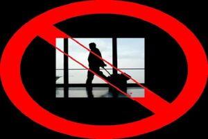 ممنوعیت سفر
