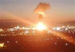 حملات هوایی ائتلاف سعودی به مناطق مختلف یمن