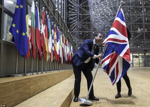 جشن مردم از خروج انگلیس از اتحادیه اروپا