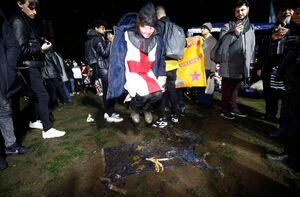 عکس/ جشن انگلیسیها برای خروج از اتحادیه اروپا